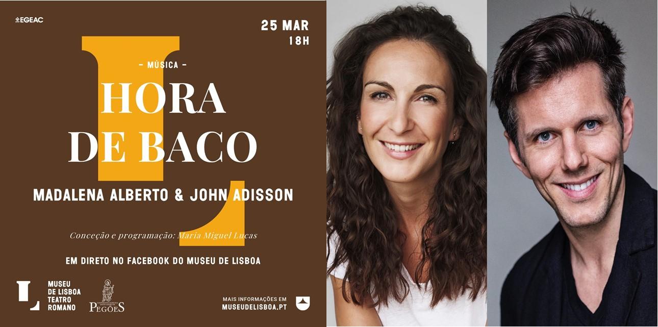 Hora de Baco | Madalena Alberto e Jonh Adisson | Direto Facebook