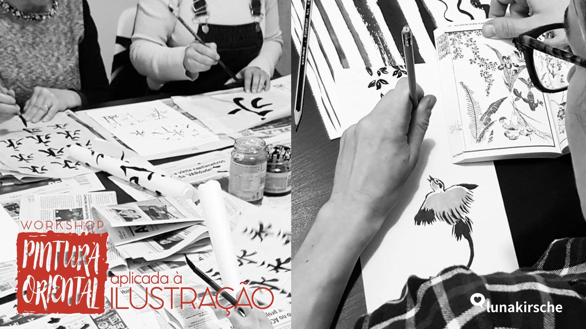 Workshop de Pintura Oriental Aplicada à Ilustração