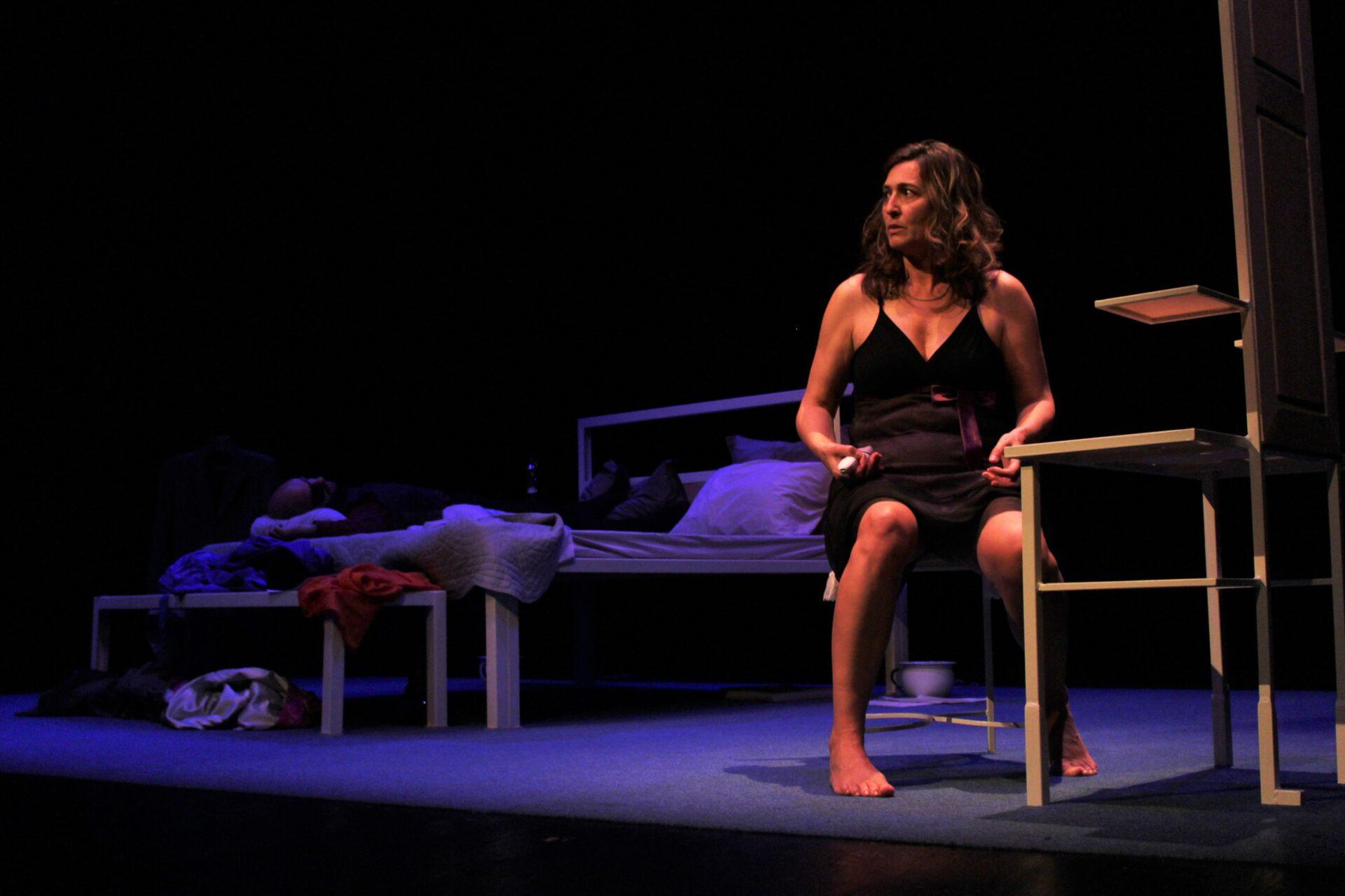 A noite de Molly Bloom: Teatro portugués con subtítulos español. Jame Joyce en el Día del Libro