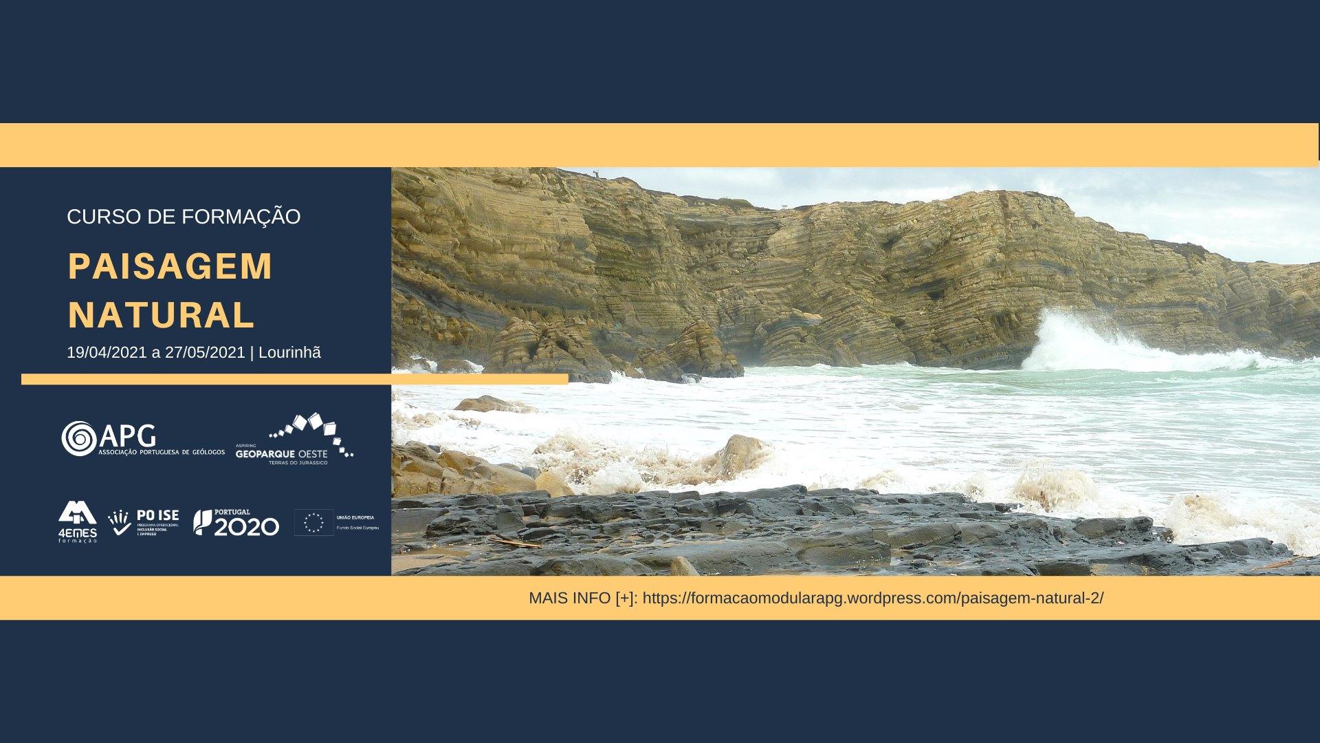 1º Edição Curso de Formação 'Paisagem Natural' - 50h Lourinhã