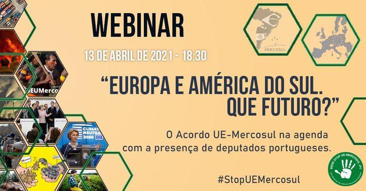 Webinar Europa e América do Sul. Que Futuro?