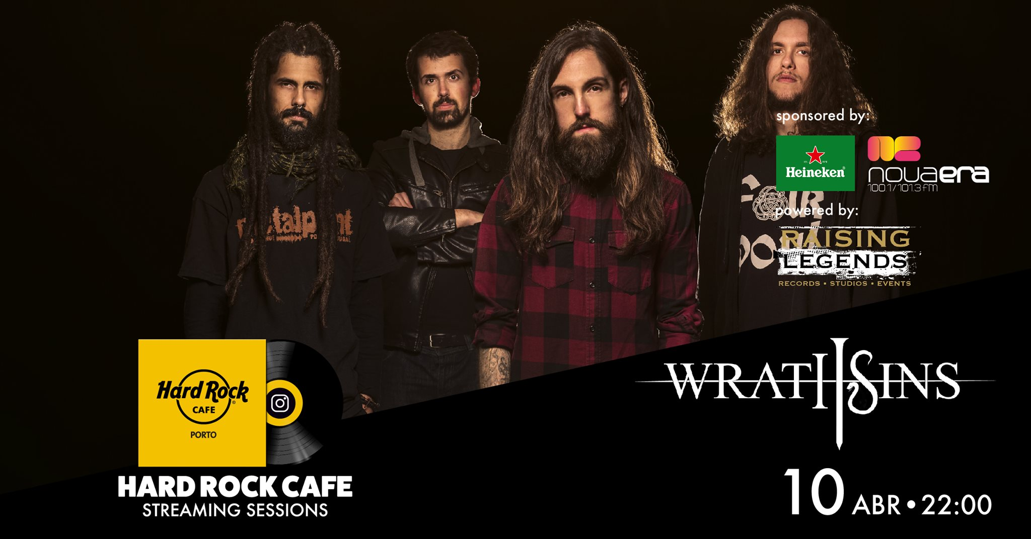 Wrath Sins | Hard Rock Cafe Streaming Sessions