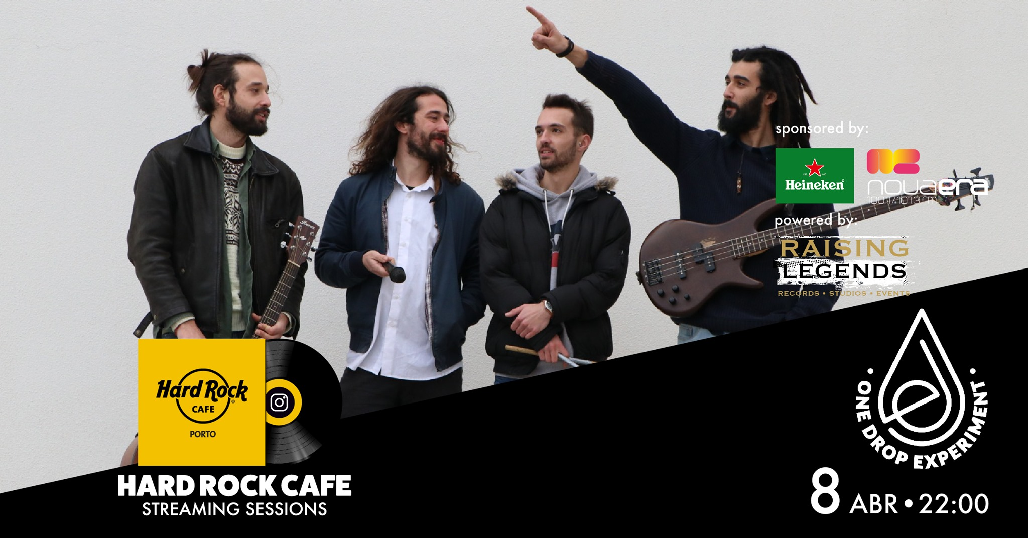 One Drop Experiment   Hard Rock Cafe Streaming Sessions