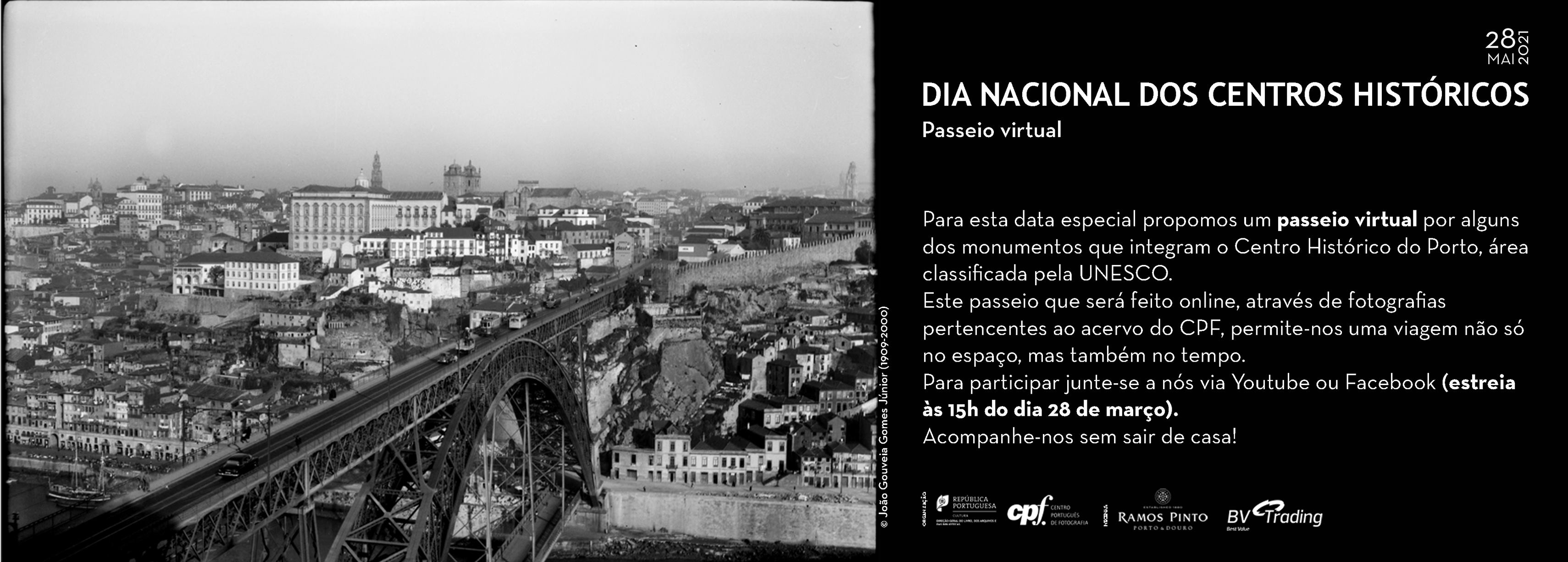 Dia Nacional dos Centros Históricos 2021_ Visita virtual promovida pelo CPF