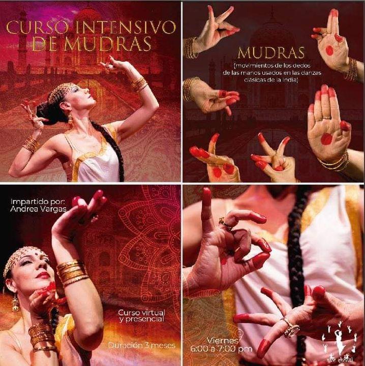 Curso de Mudras para danza de la India
