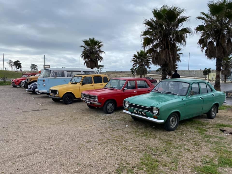 II Grande Encontro de Carros Antigos e Desportivos da Costa de Caparica