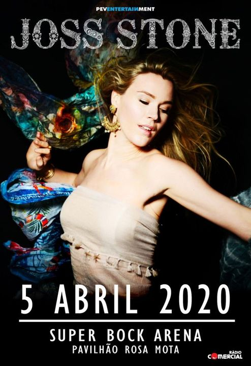 Joss Stone | Super Bock Arena - Pavilhão Rosa Mota | 2021