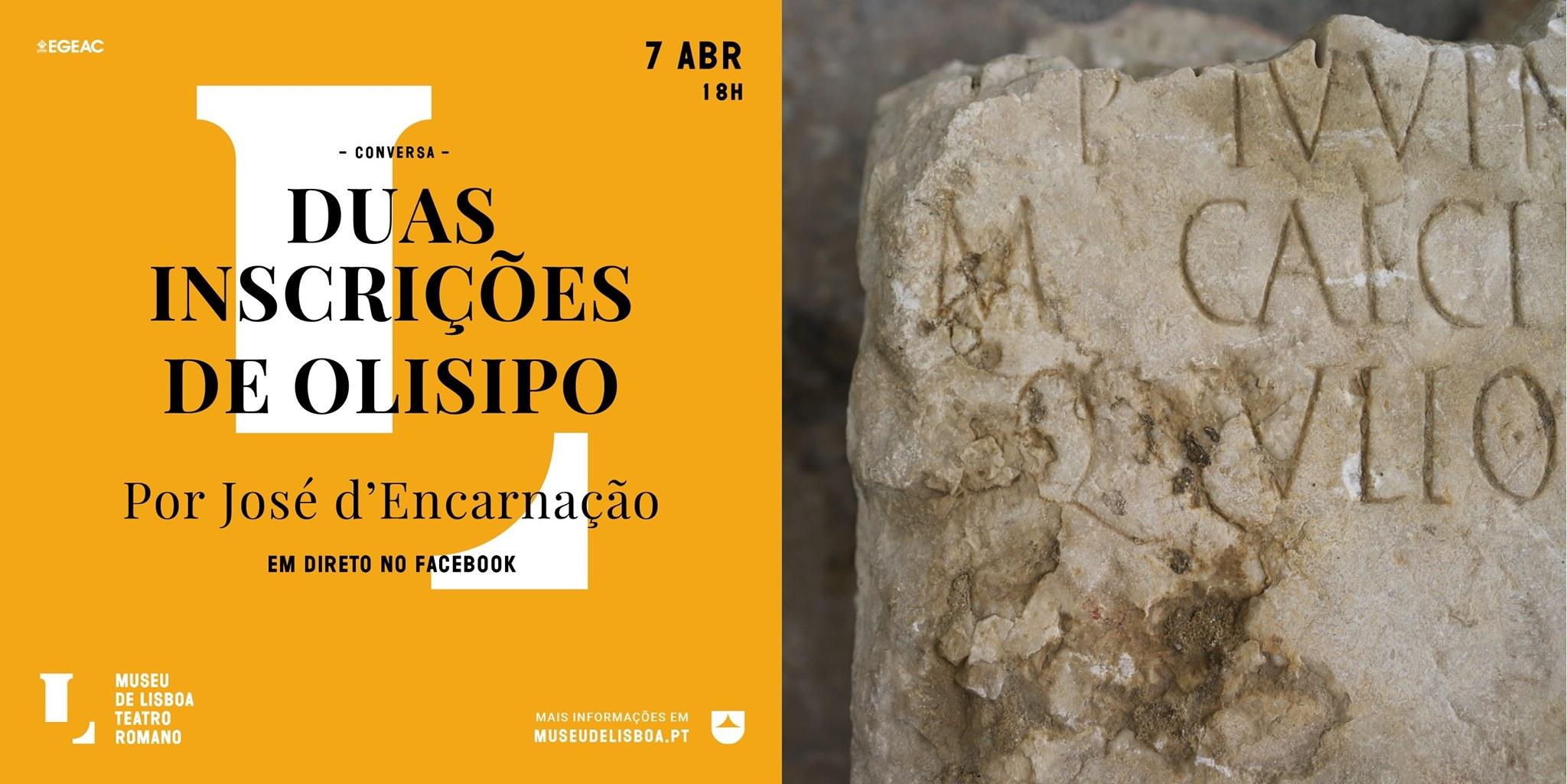 «Duas Inscrições de Olisipo», por José d'Encarnação