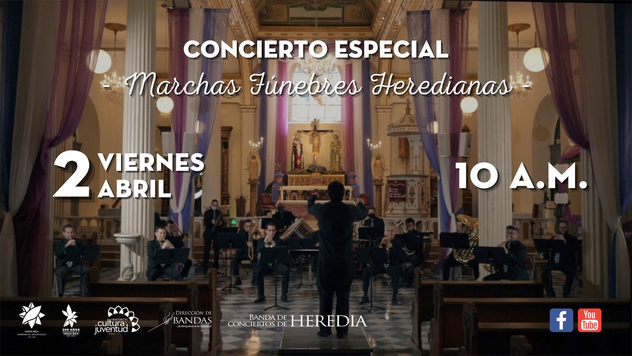 Concierto de Marchas Fúnebres Heredianas.