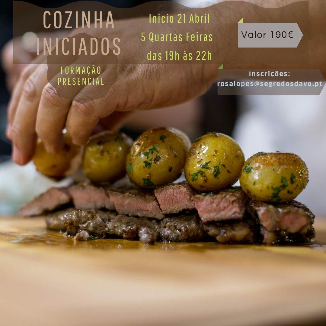 Cozinha Iniciados -  Presencial - lotada