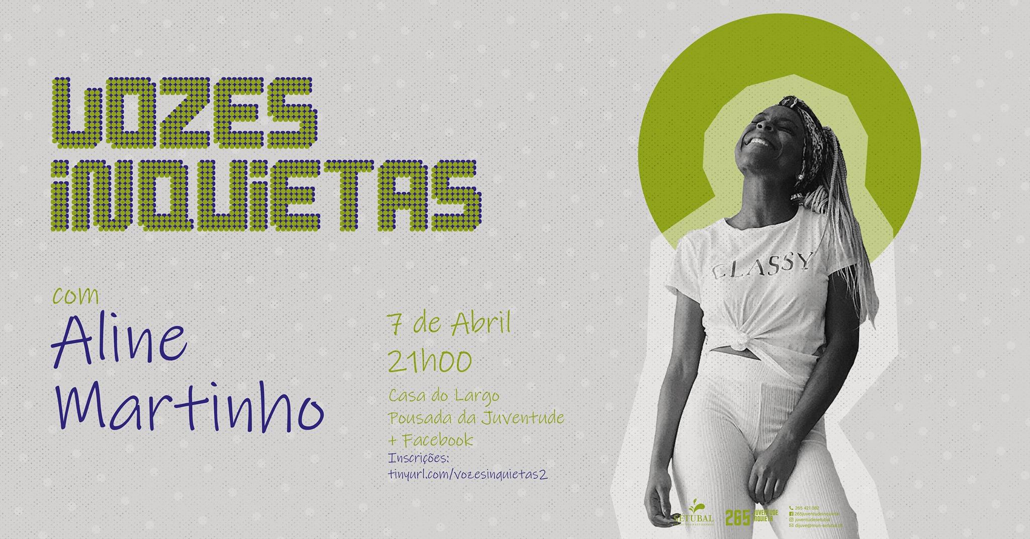 Vozes Inquietas - Aline Martinho