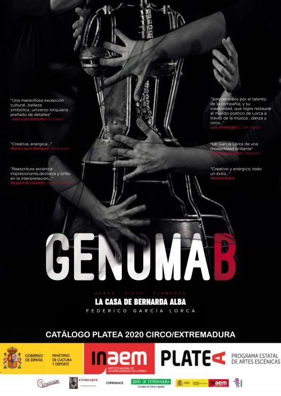 GENOMA B, CIRCO EN LA CALLE