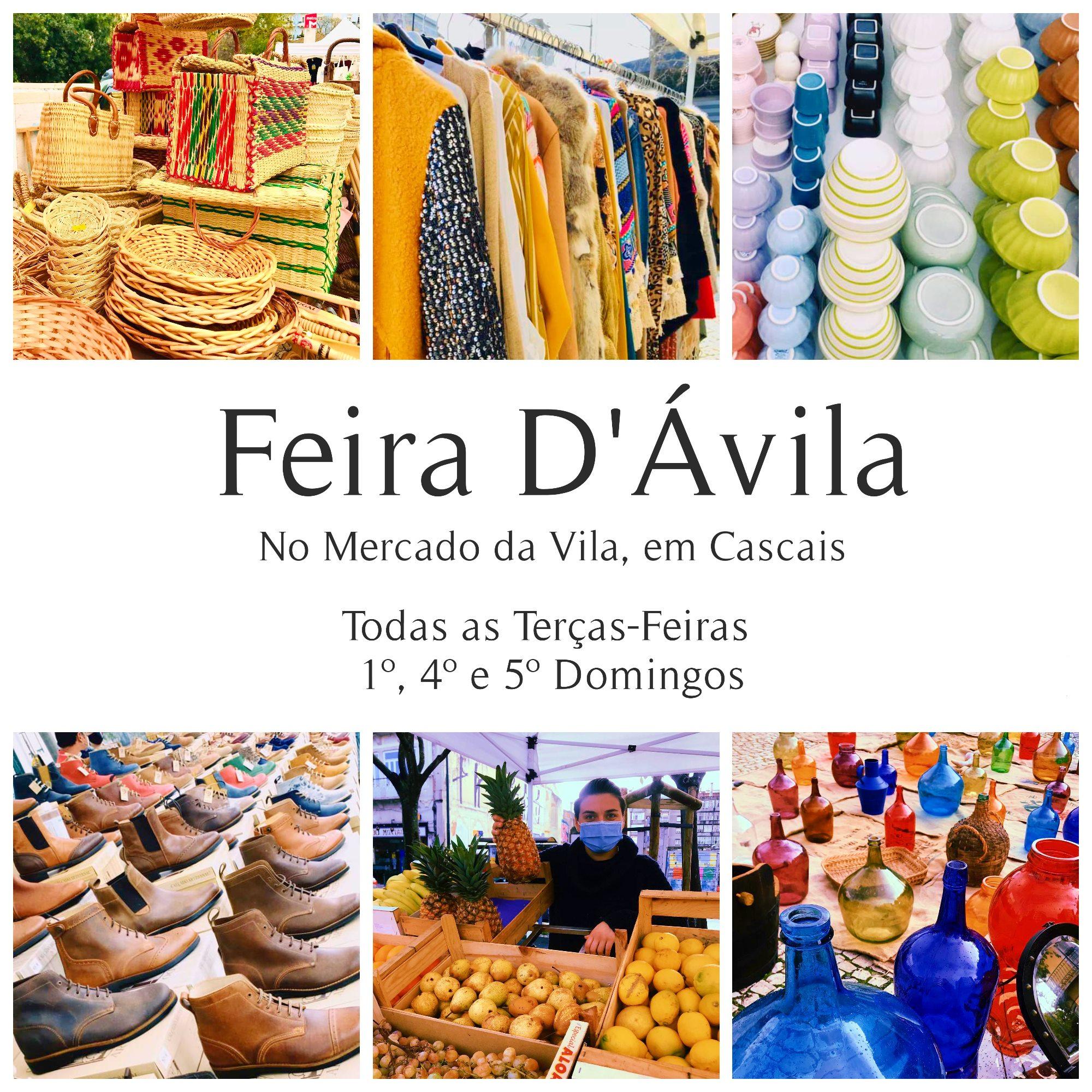 Feira D'Ávila no Mercado da Vila, em Cascais