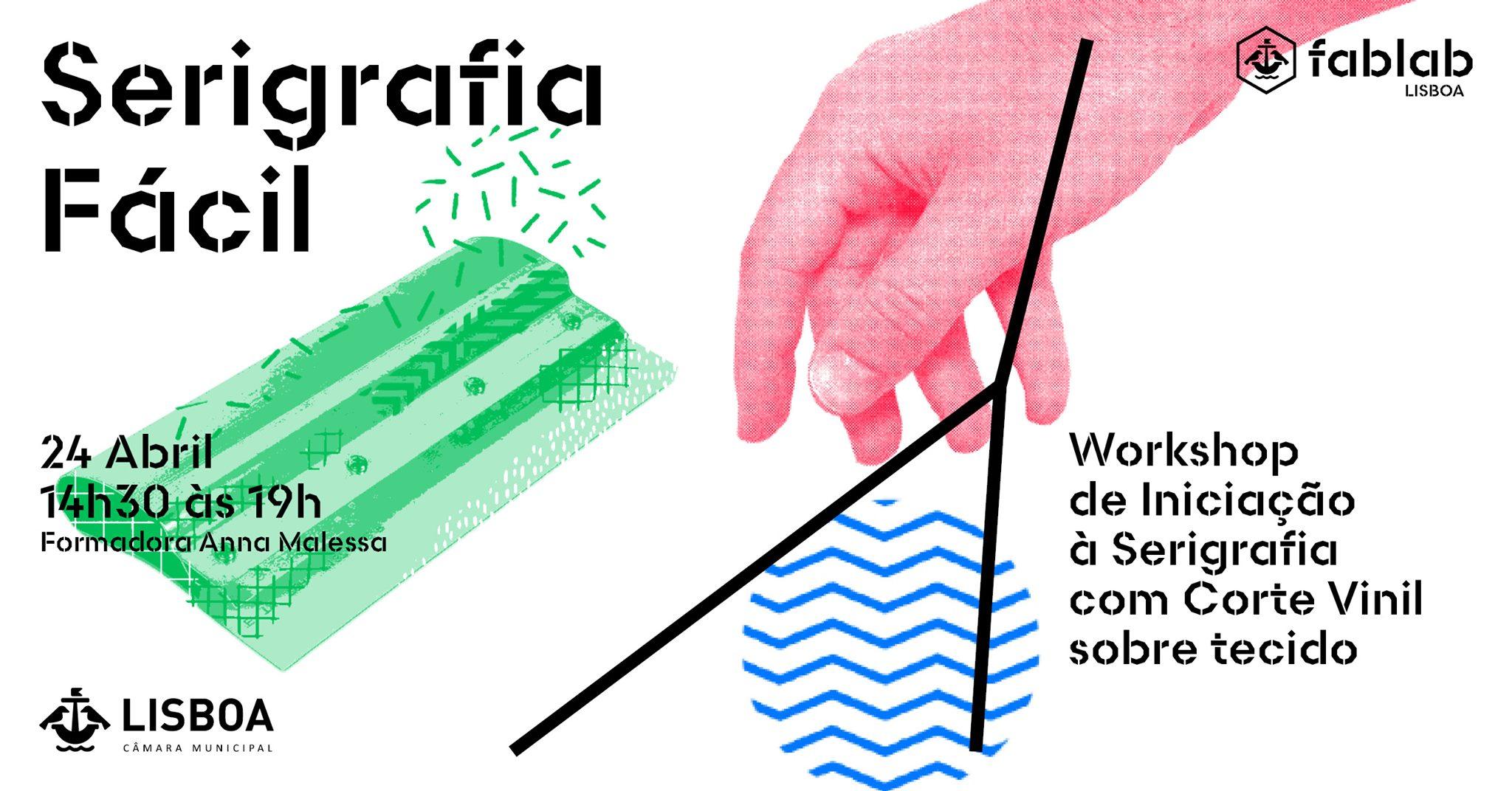 Serigrafia Fácil, com apoio da cortadora de vinil