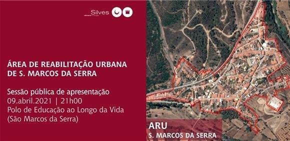 Sessão pública de apresentação ARU S. Marcos da Serra