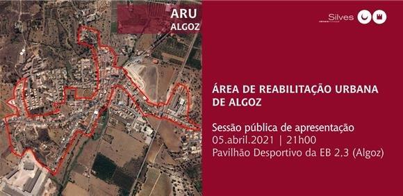 Sessão pública de apresentação ARU Algoz