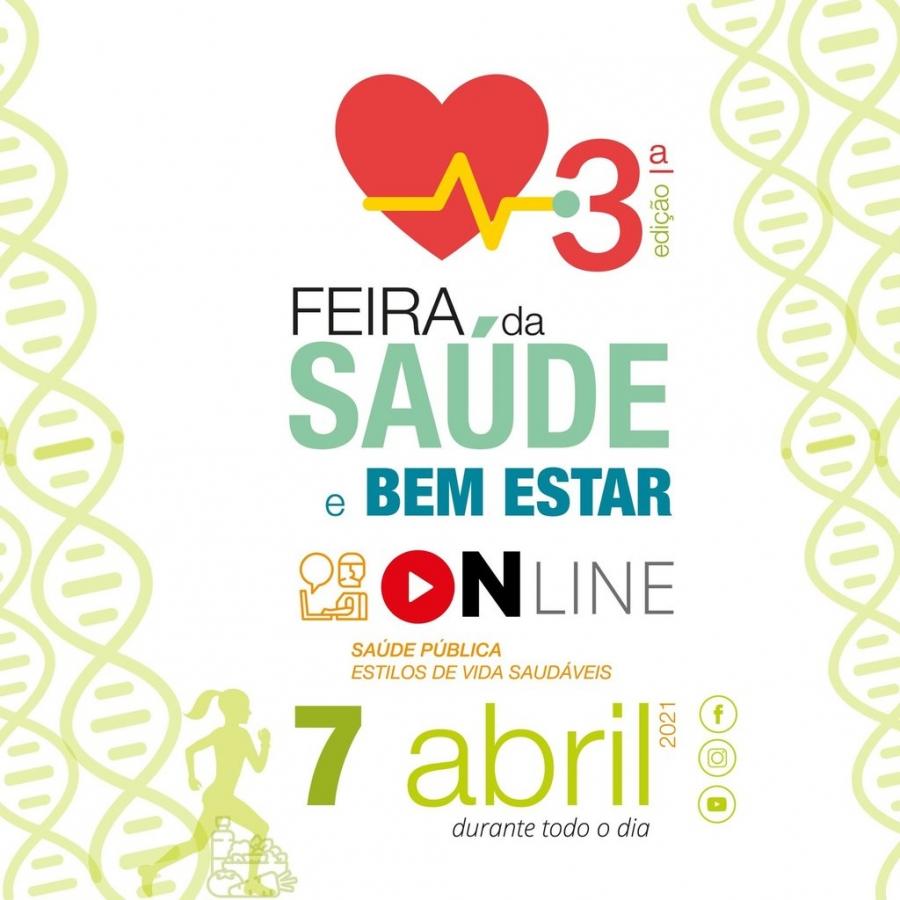 Feira da Saúde e Bem-estar Online - 3ª edição
