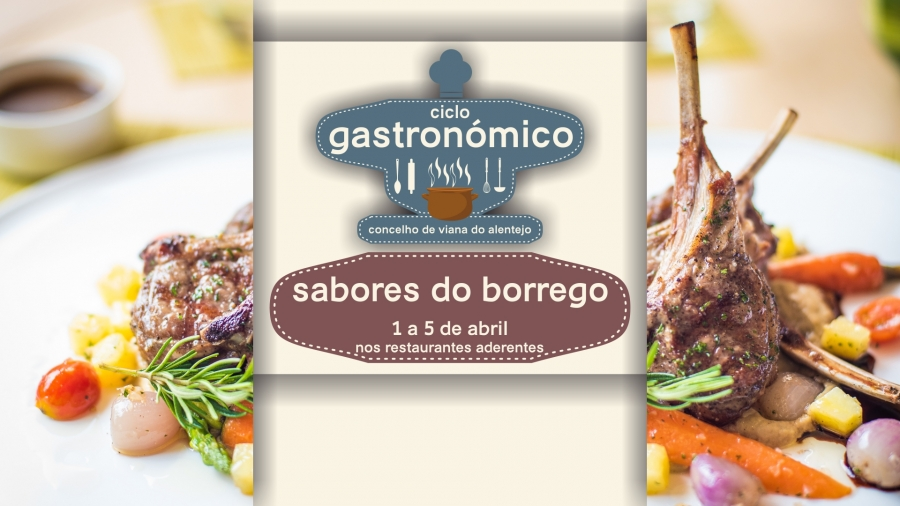 Ciclo Gastronómico – Sabores do Borrego