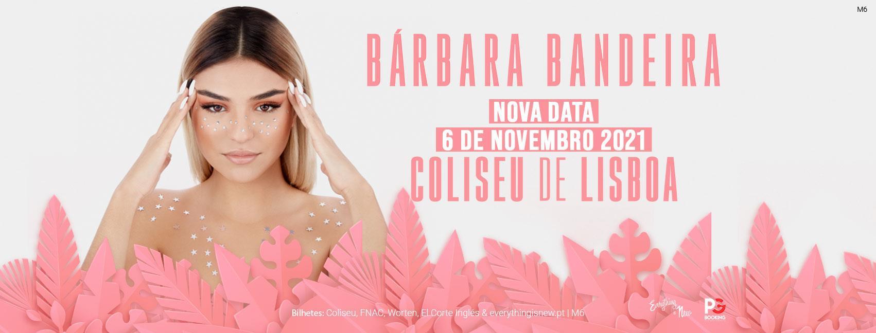 Nova data: Bárbara Bandeira // Coliseu de Lisboa