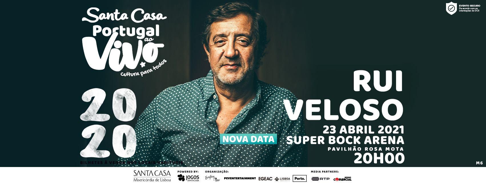 NOVA DATA: RUI VELOSO - SANTA CASA PORTUGAL AO VIVO