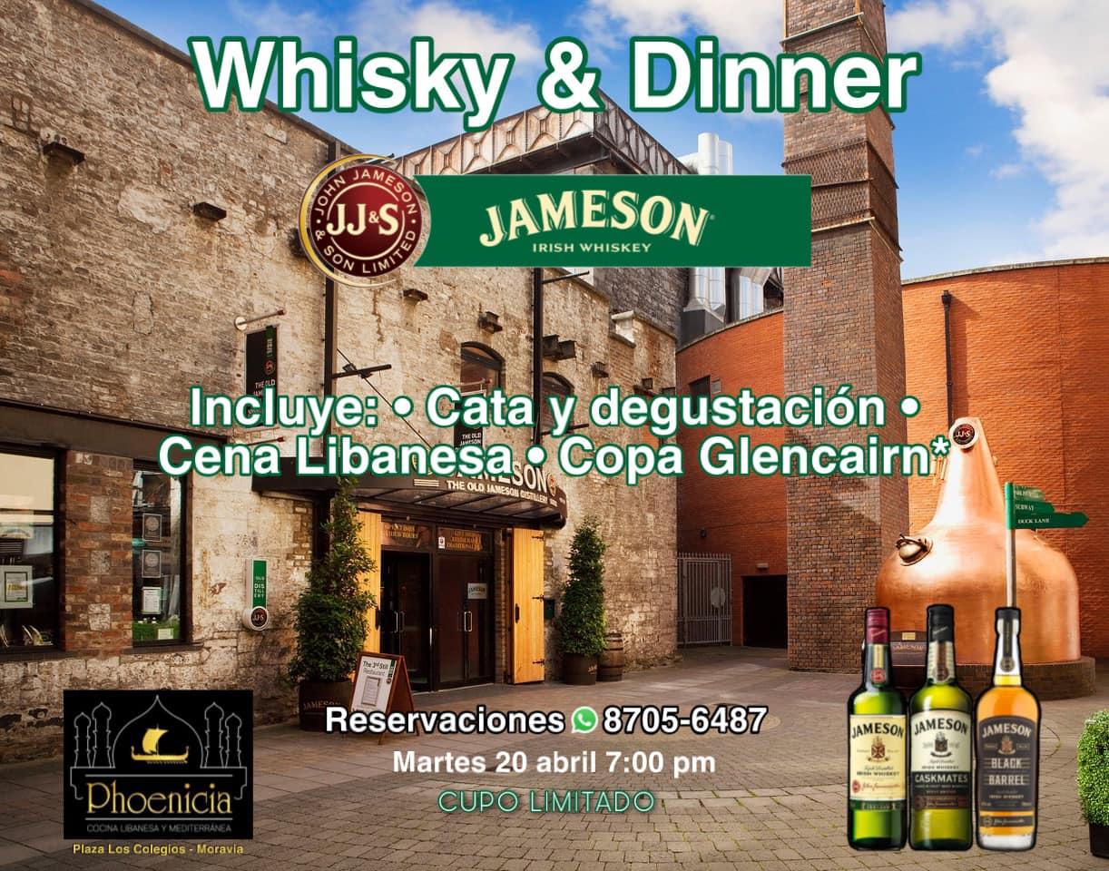 Whisky & Dinner (Jameson)