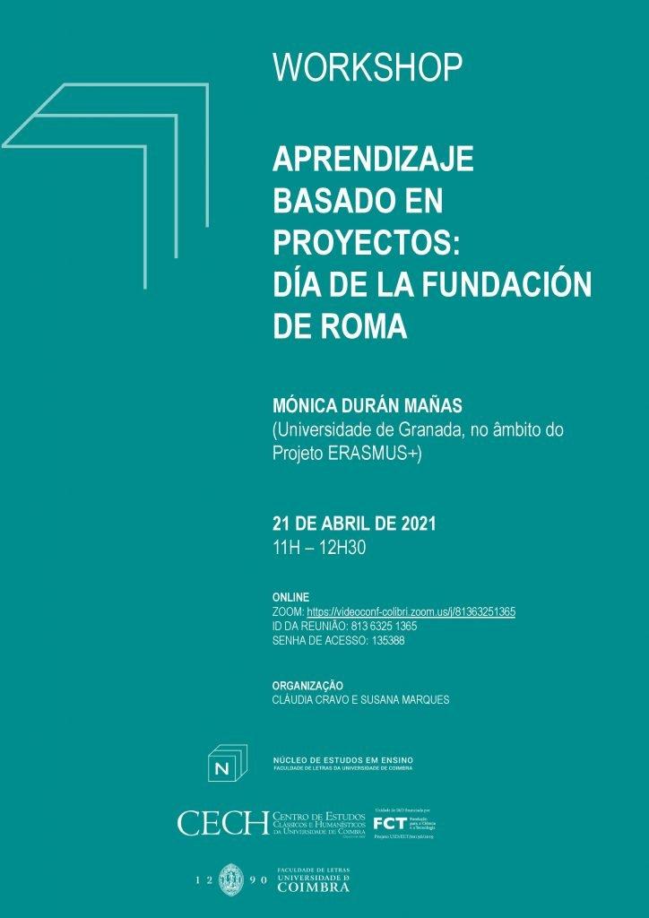 """Workshop """"Aprendizaje basado en proyectos: Día de la fundación de Roma"""""""