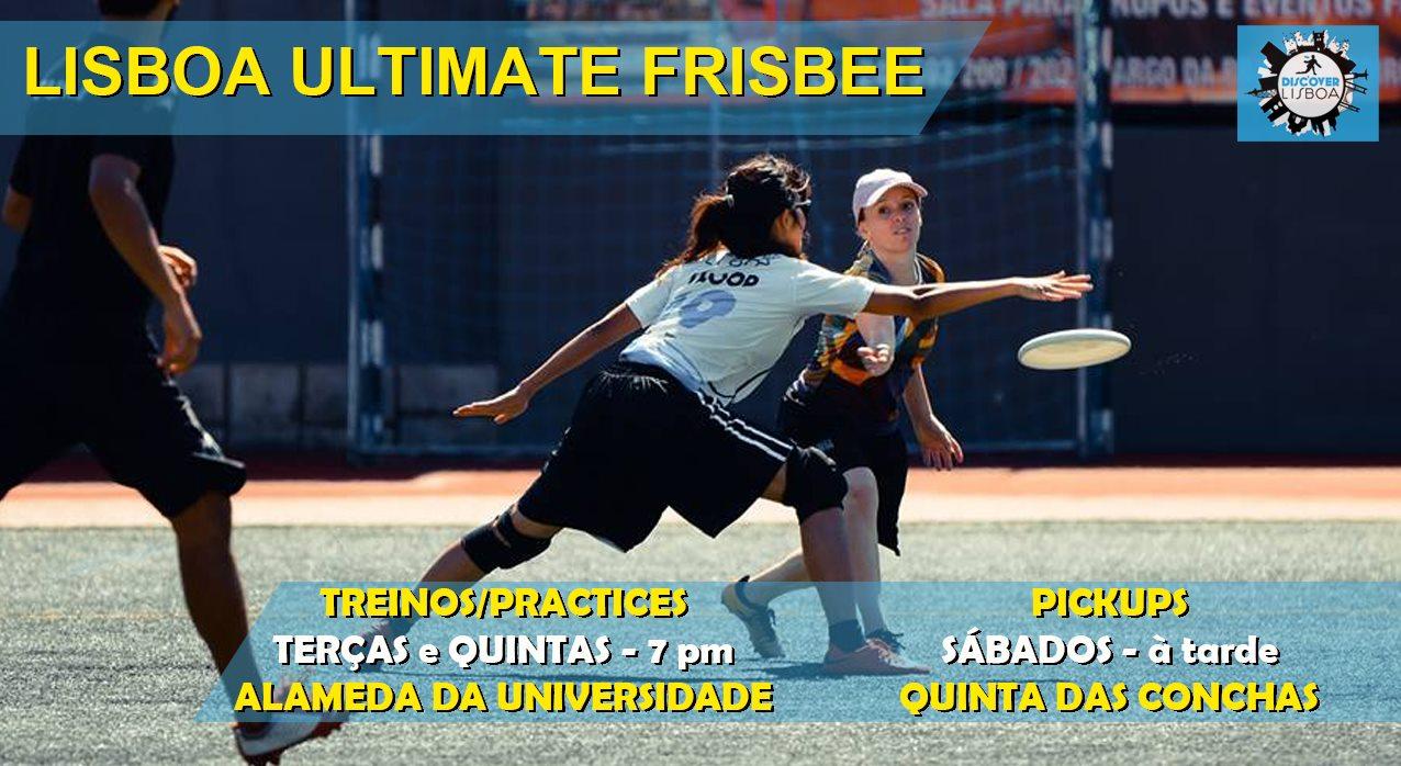 Lisbon Ultimate Frisbee Training - 1 (2021)