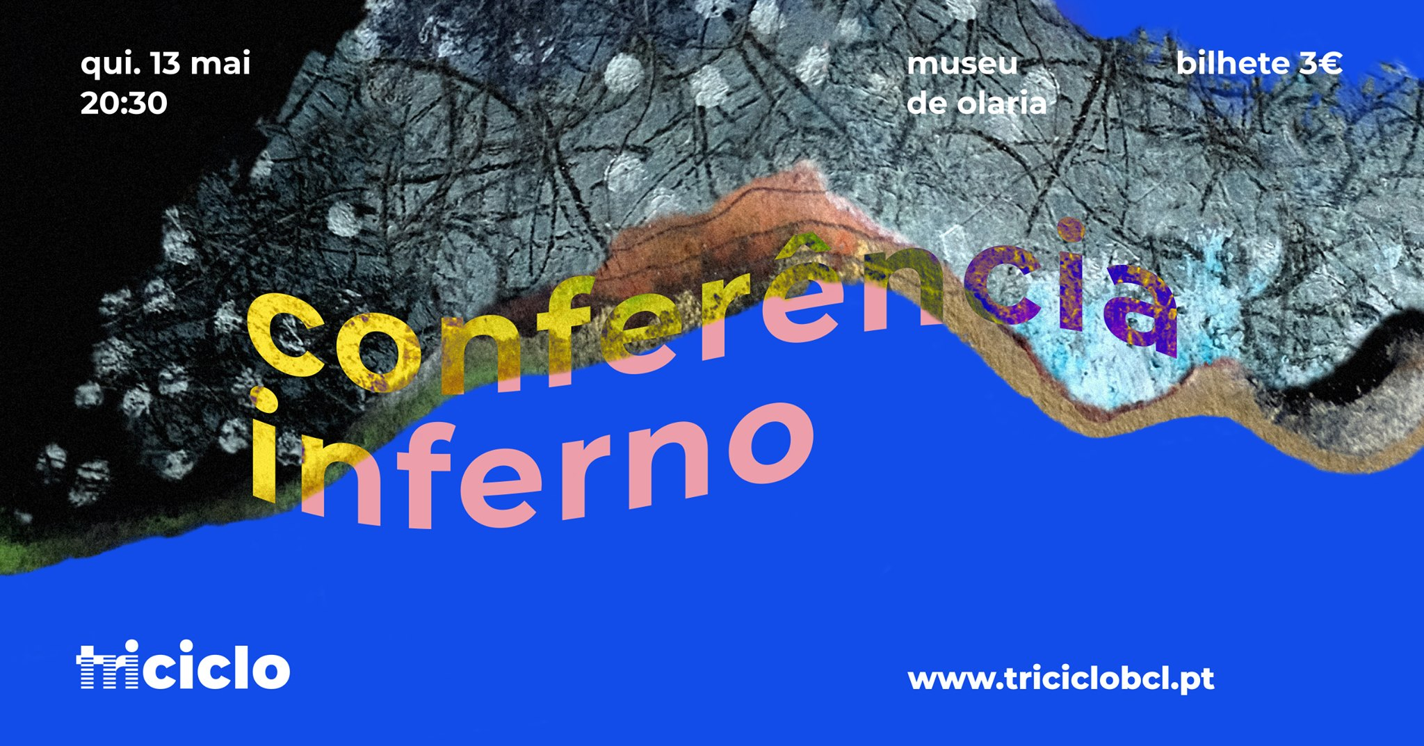 triciclo / conferência inferno no museu de olaria