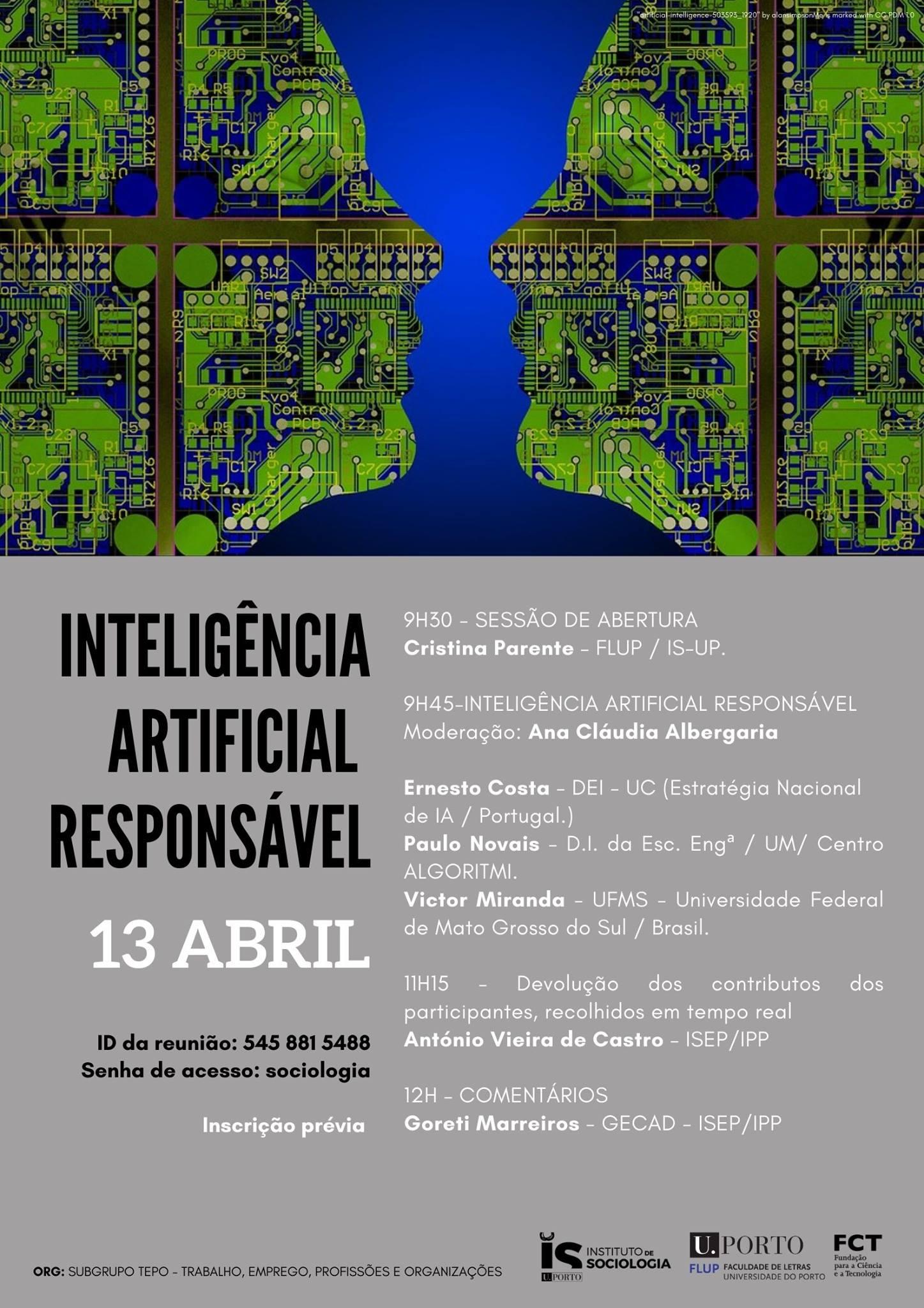 Conferência online | Inteligência Artificial Responsável