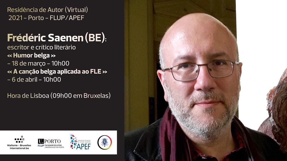 'A canção belga aplicada ao FLE' com Frédéric Saenen (BE)