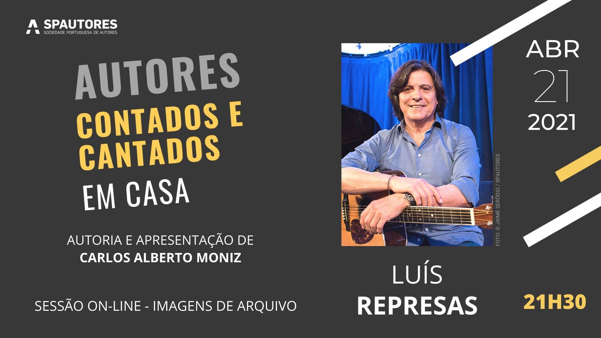 Luís Represas - Autores Contados e Cantados Em Casa