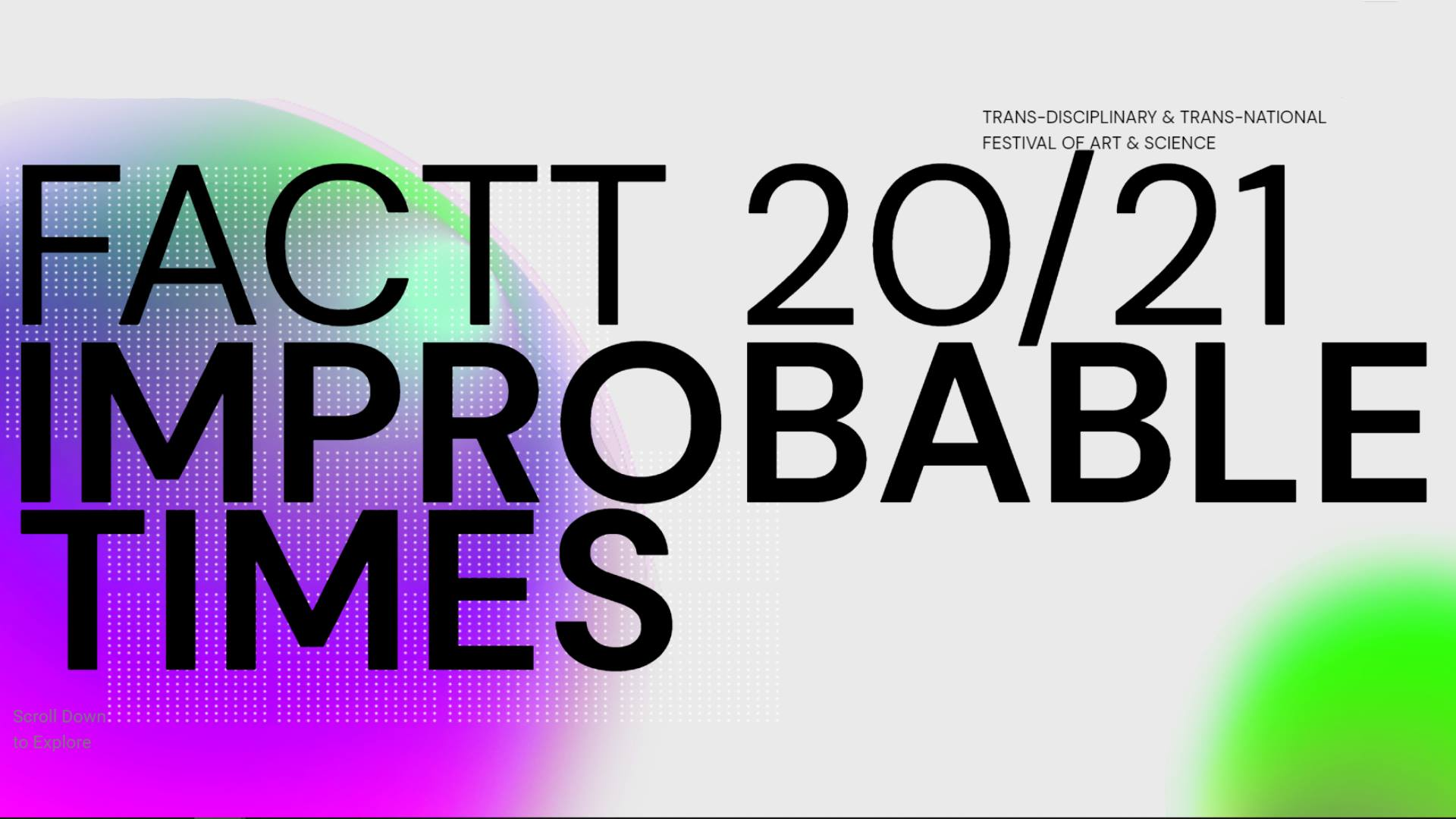 FACTT 20/21 - Improbable Times