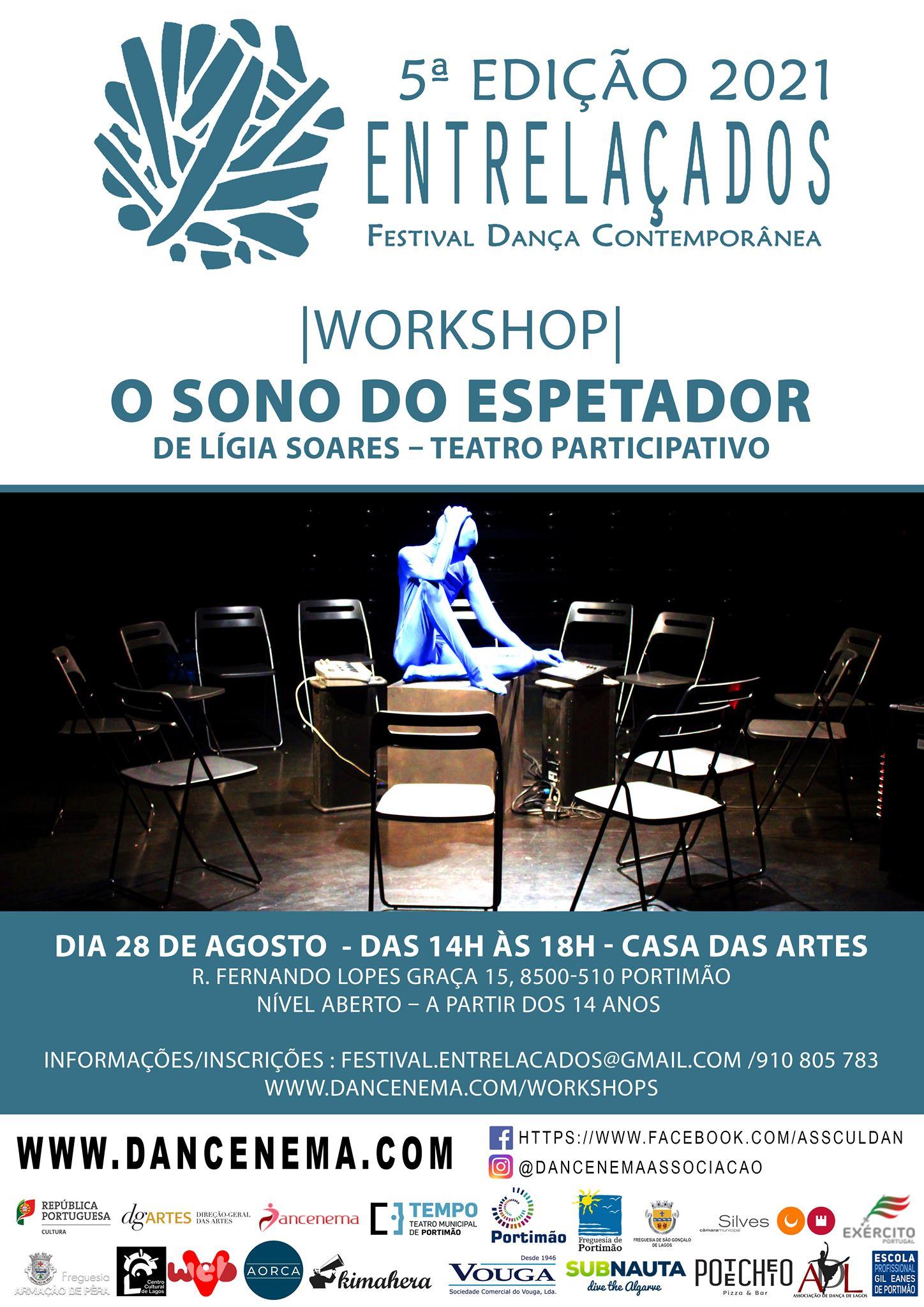 Workshop de teatro- O sono do espetador-Lígia Soares