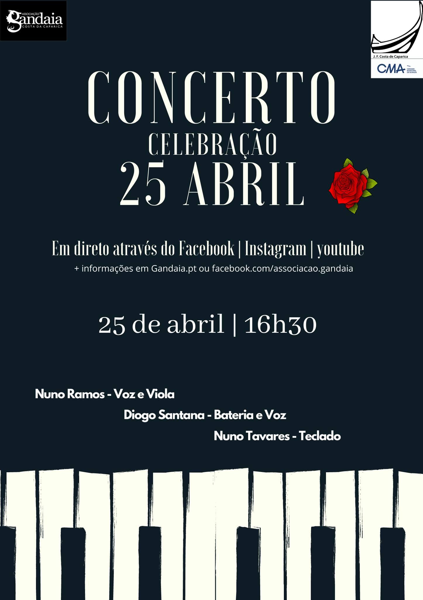 Concerto de Celebração do 25 de Abril