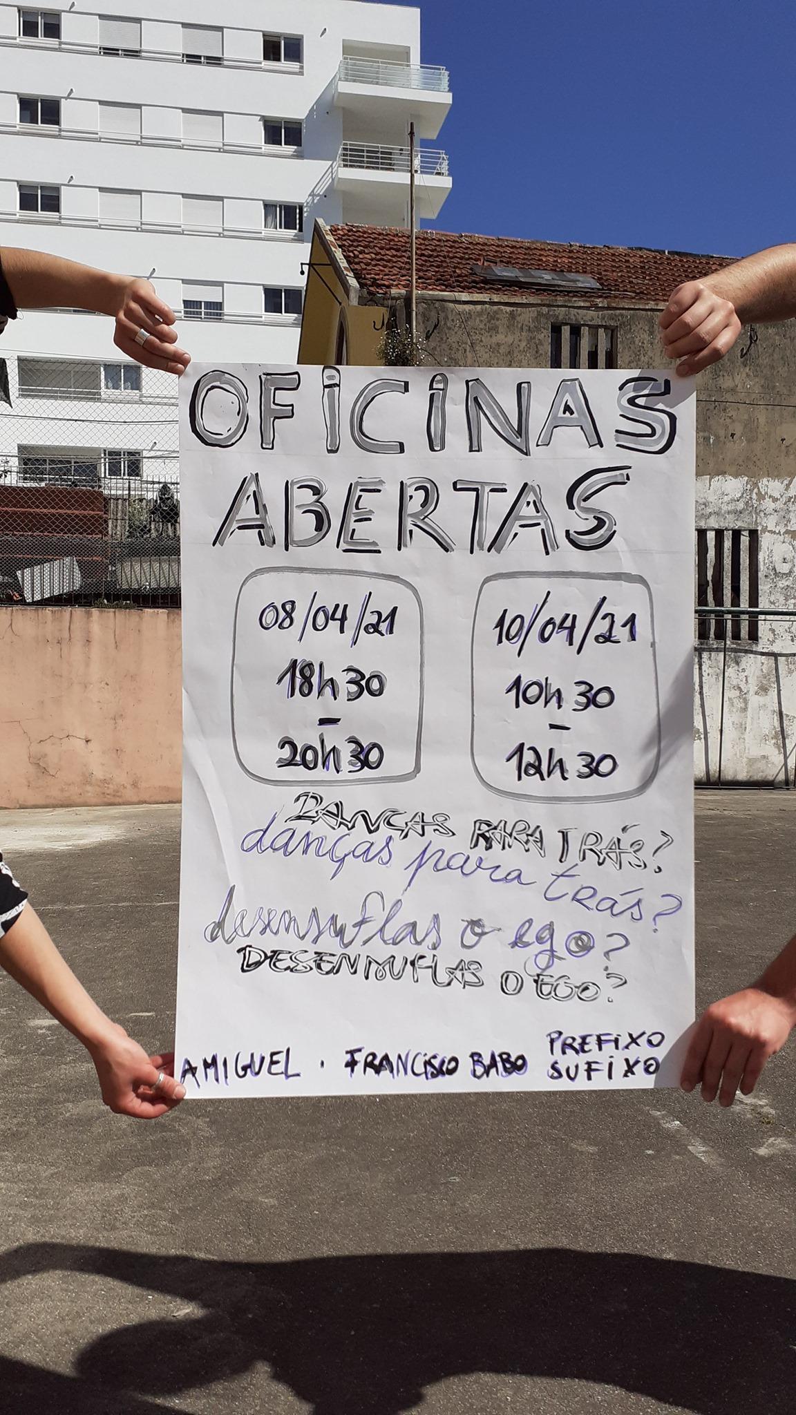 Oficinas Abertas - com aMiguel e Francisco Babo Prefixo Sufixo