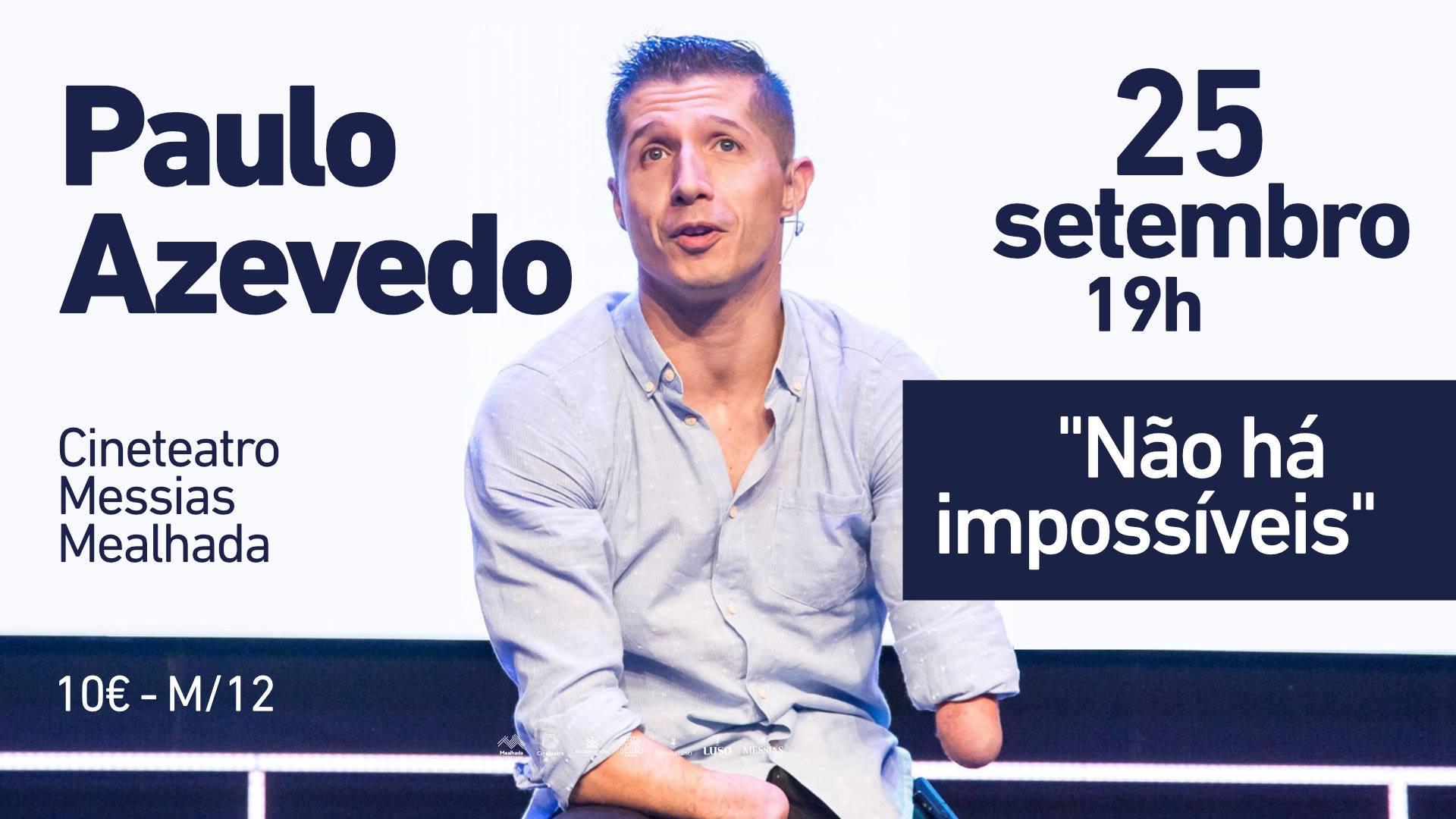 Palestra motivacional 'Não há impossíveis'