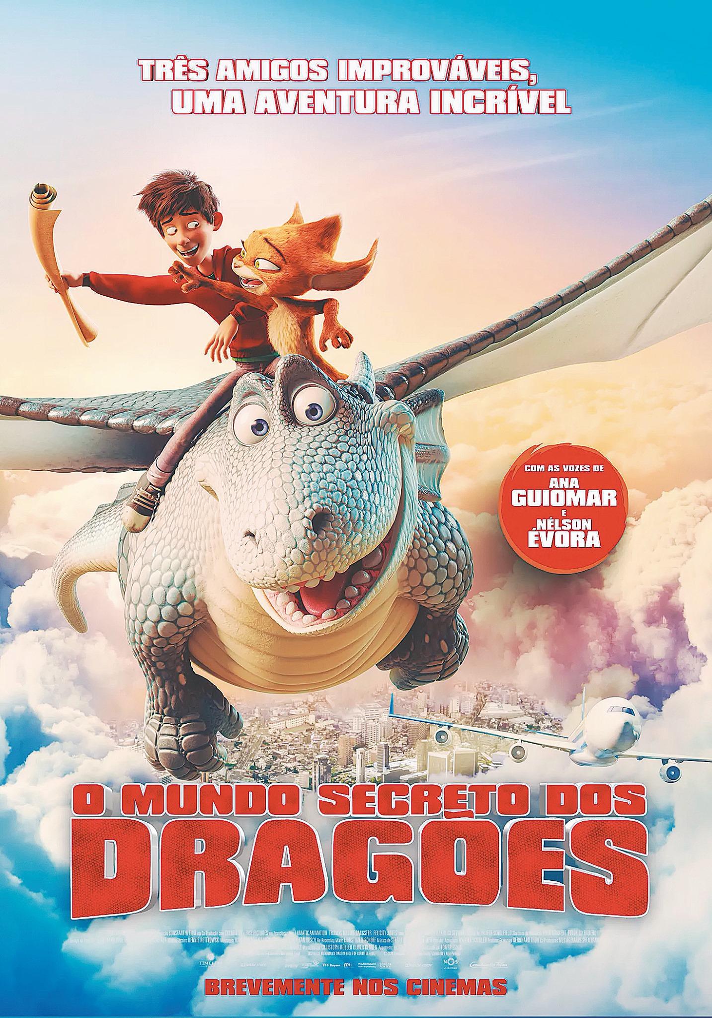 CINEMA - O Mundo Secreto dos Dragões VP