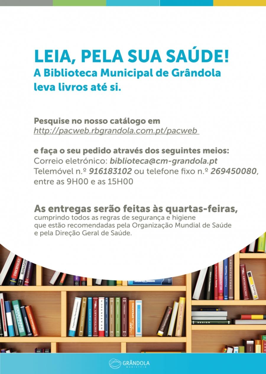 BIBLIOTECA MUNICIPAL | Leia, pela sua saúde !