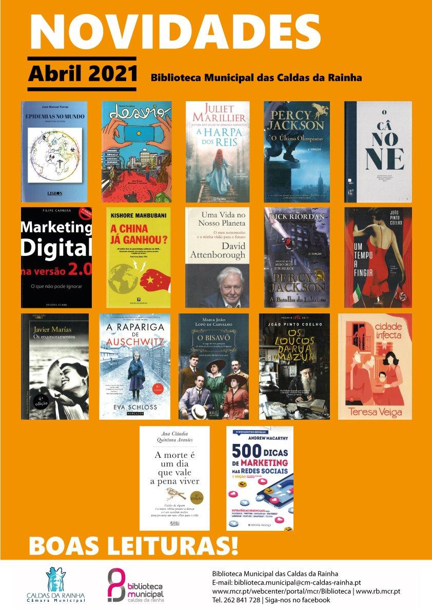 Recentes aquisições bibliográficas
