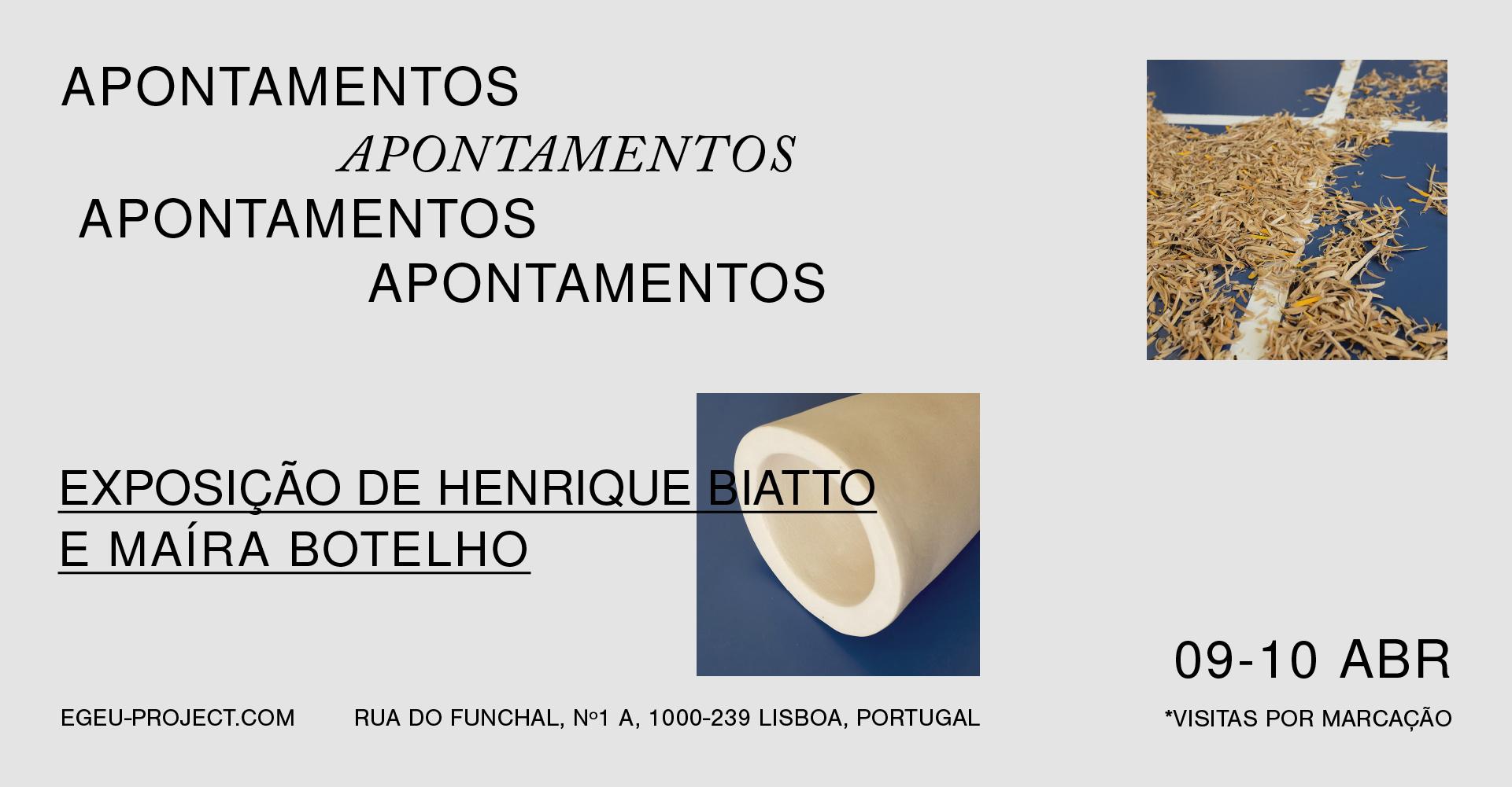 Apontamentos | Henrique Biatto e Maíra Botelho