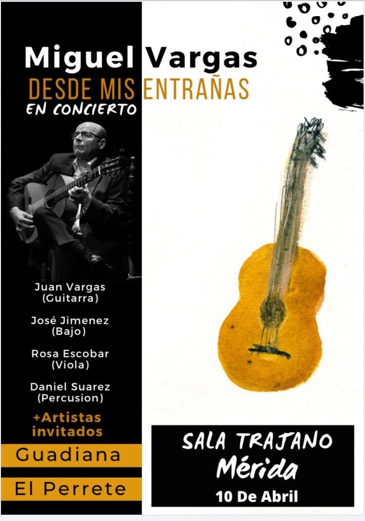 Concierto de Miguel Vargas: «Desde mis entrañas»