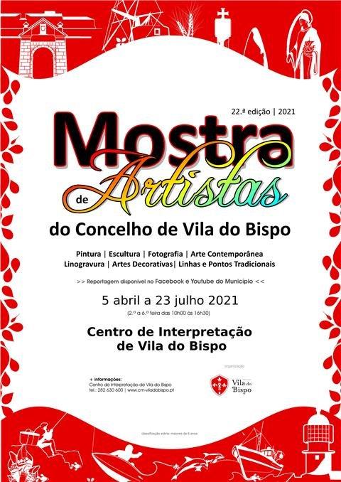 Mostra de Artistas do Concelho no Centro de Interpretação de Vila do Bispo