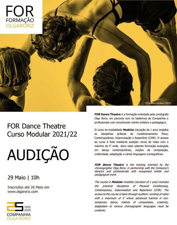 AUDIÇÃO For Dance Theatre