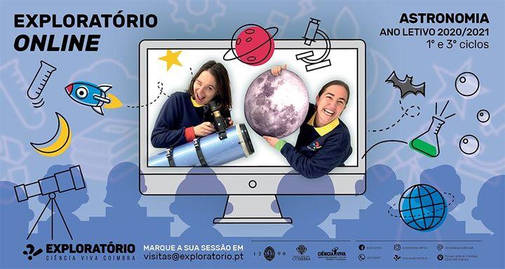 Exploratório Online - Workshops de Ciência - Astronomia