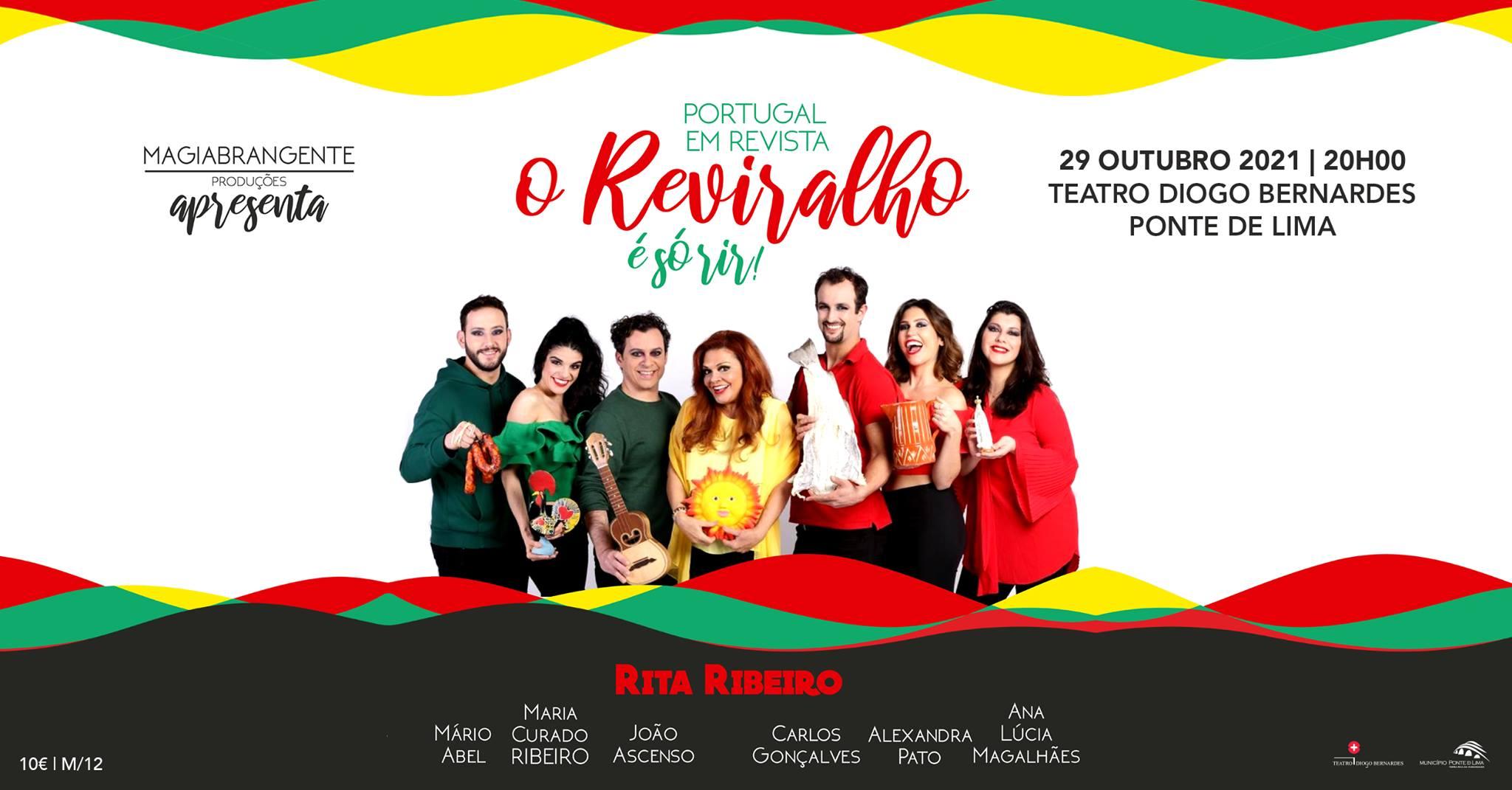O Reviralho, Portugal em Revista é só rir! - Teatro Diogo Bernardes | Ponte de Lima