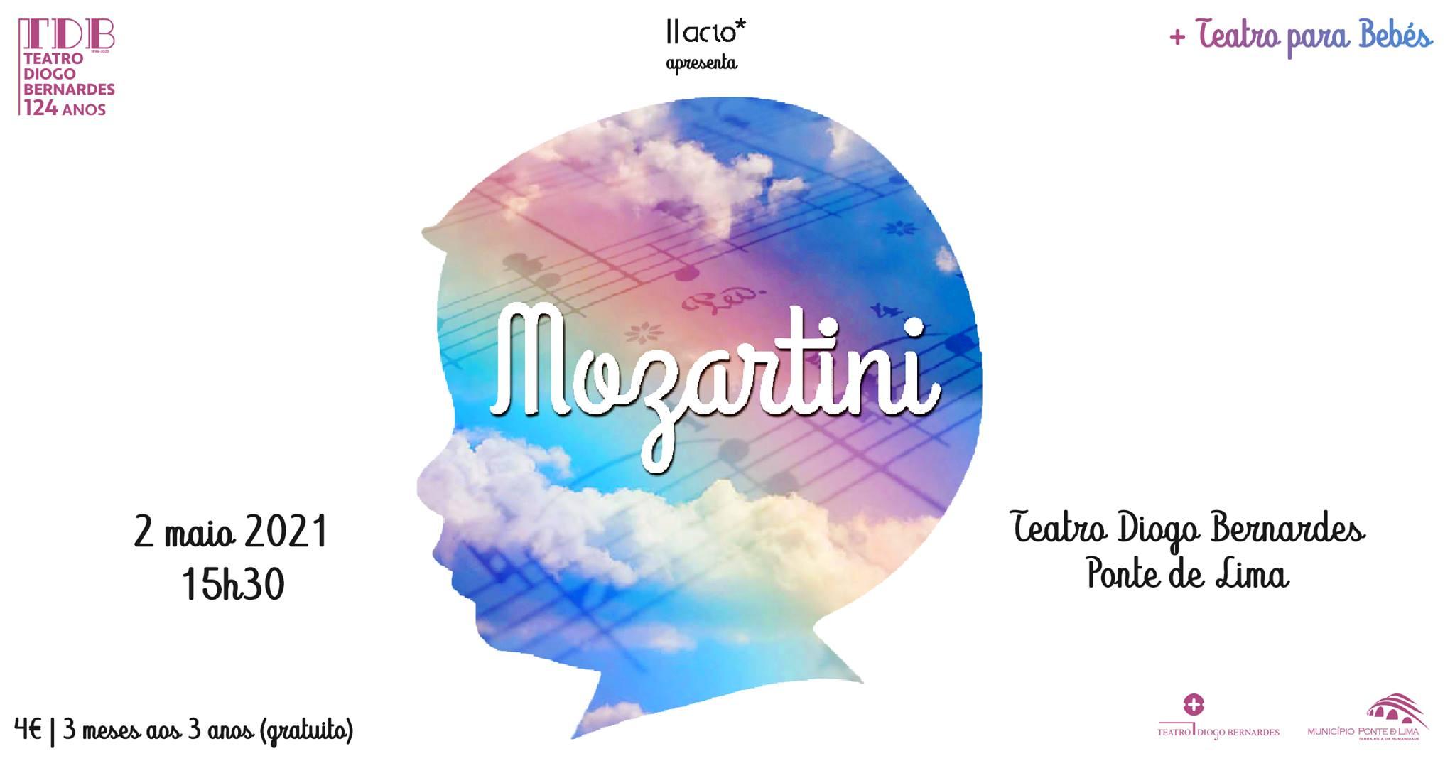 Mozartini | II Acto - Teatro Diogo Bernardes | Ponte de Lima - 15h30
