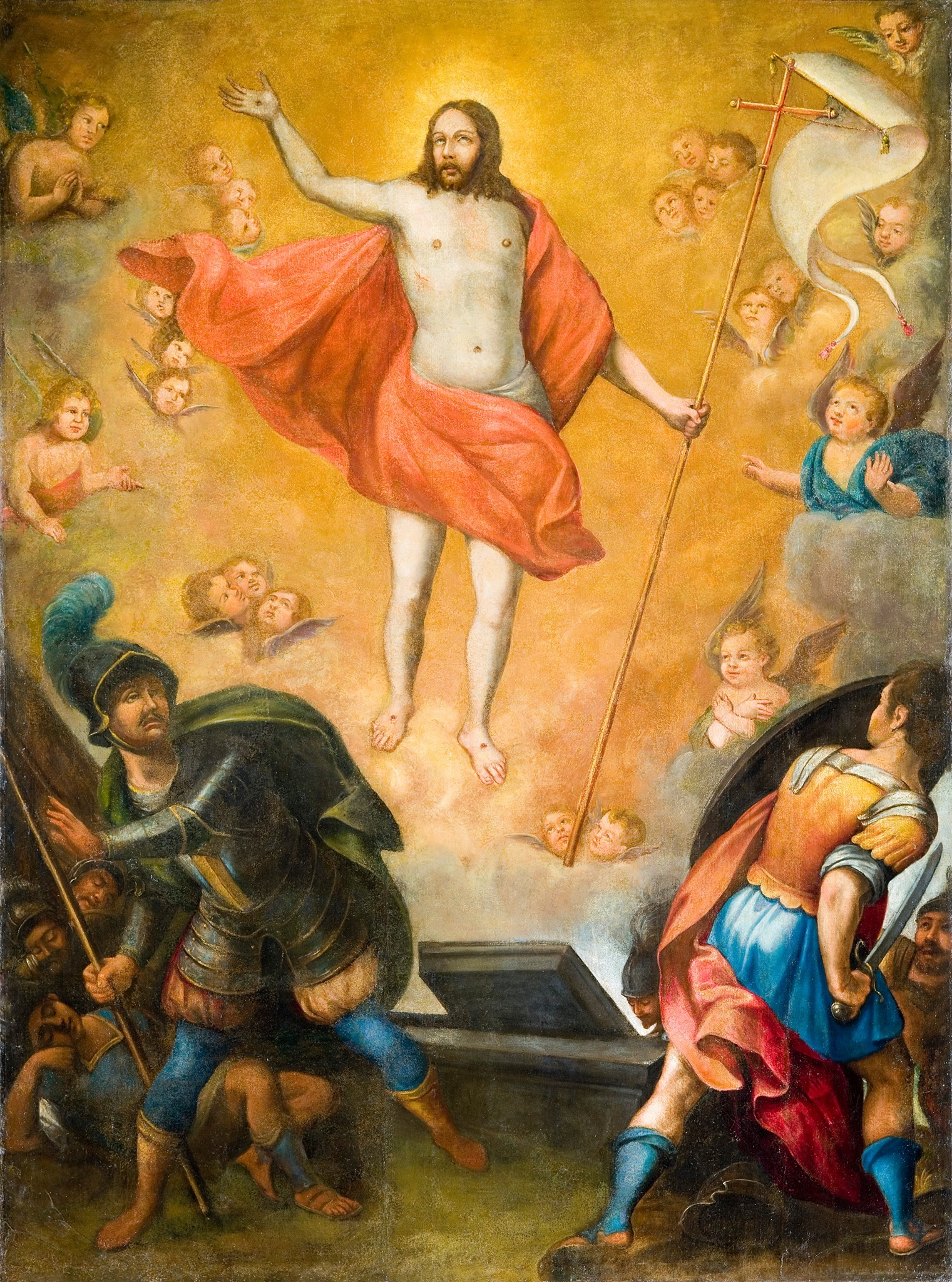 7 telas para o Calendário Litúrgico | Ressurreição | Visita temática à Igreja de São Roque