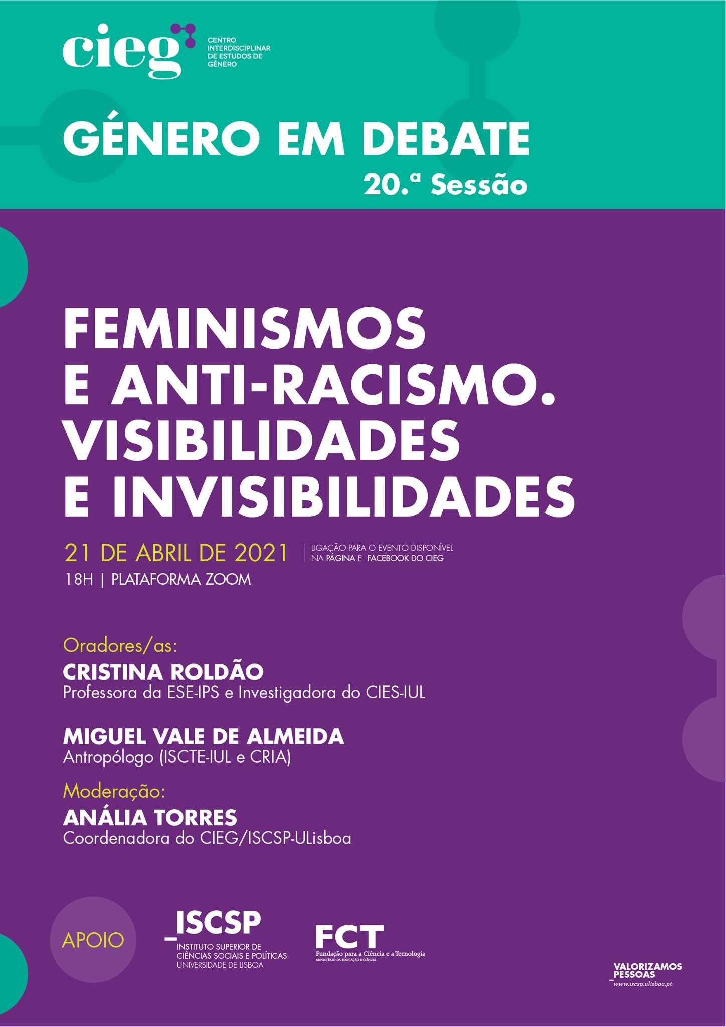 Feminismos e anti-racismo. Visibilidades e invisibilidades