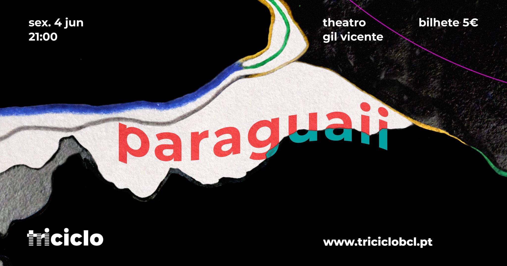 triciclo / paraguaii no theatro gil vicente