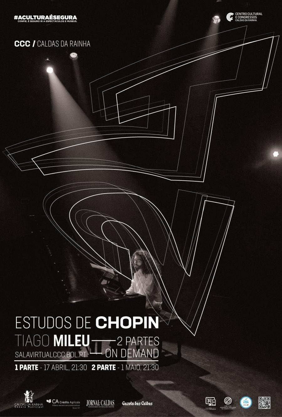 Evento Online | 24 Estudos de Chopin por Tiago Mileu